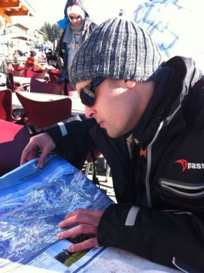 Looking for off-piste routes